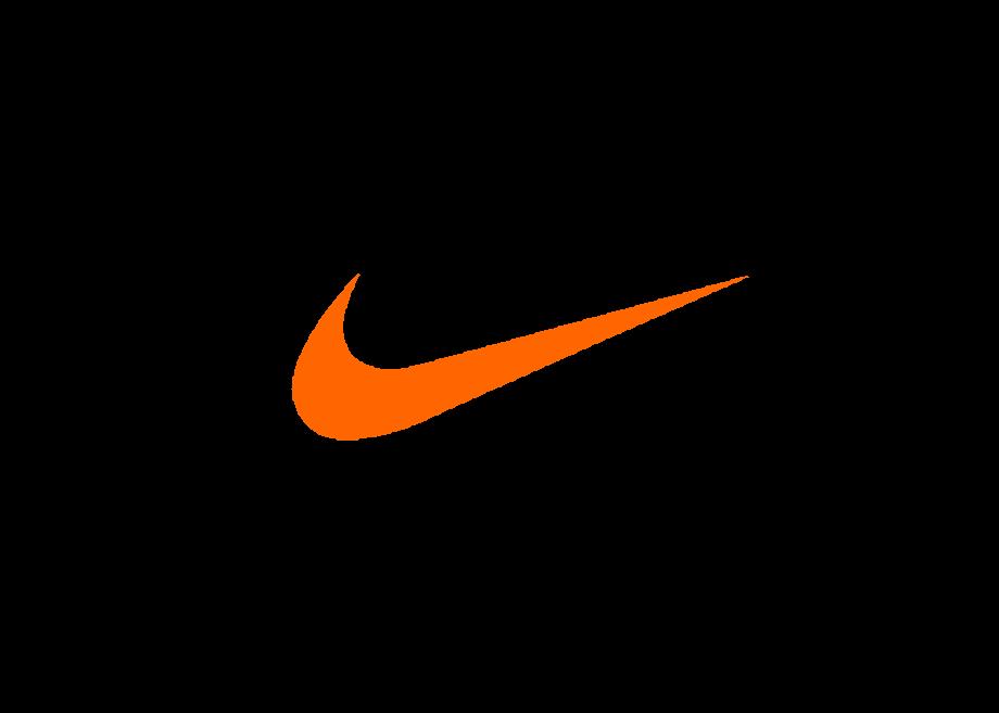 Download High Quality nike swoosh logo orange Transparent ...
