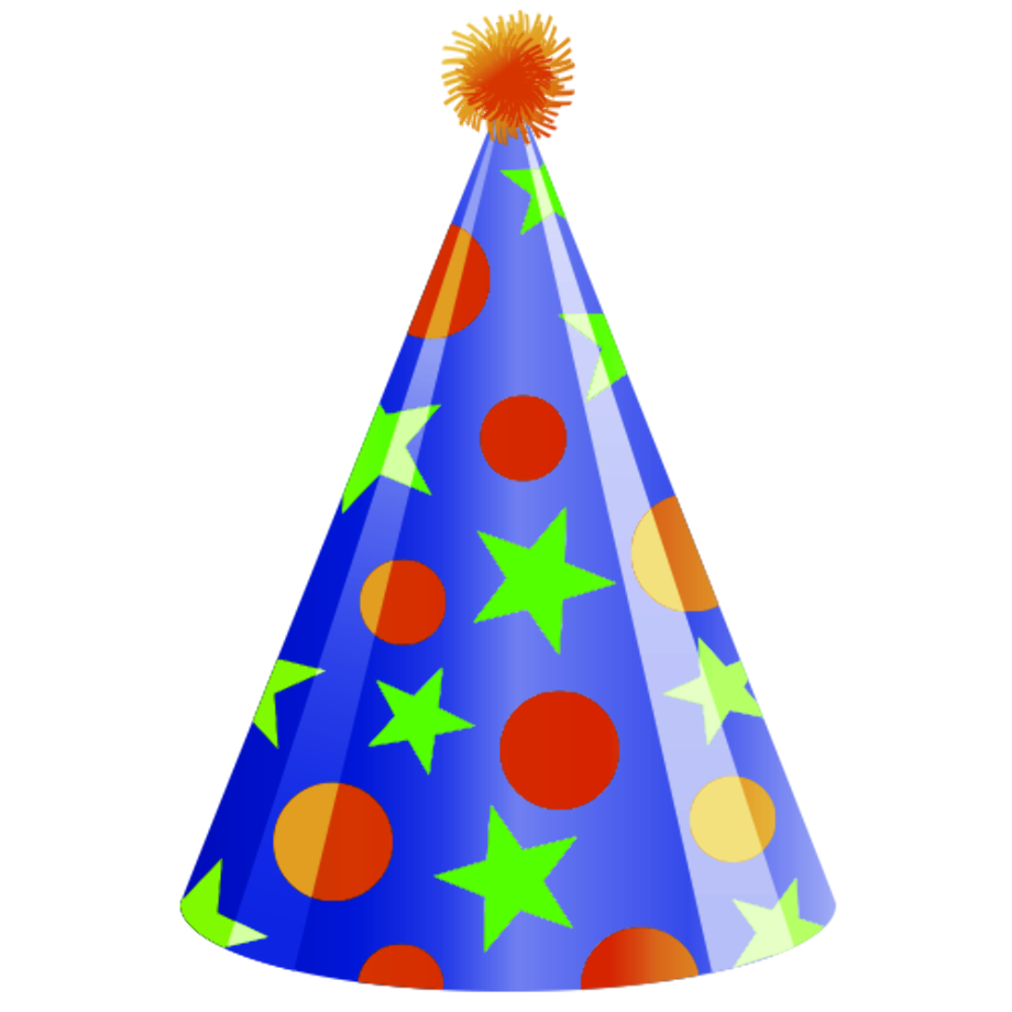 Download High Quality birthday hat clipart cartoon ...