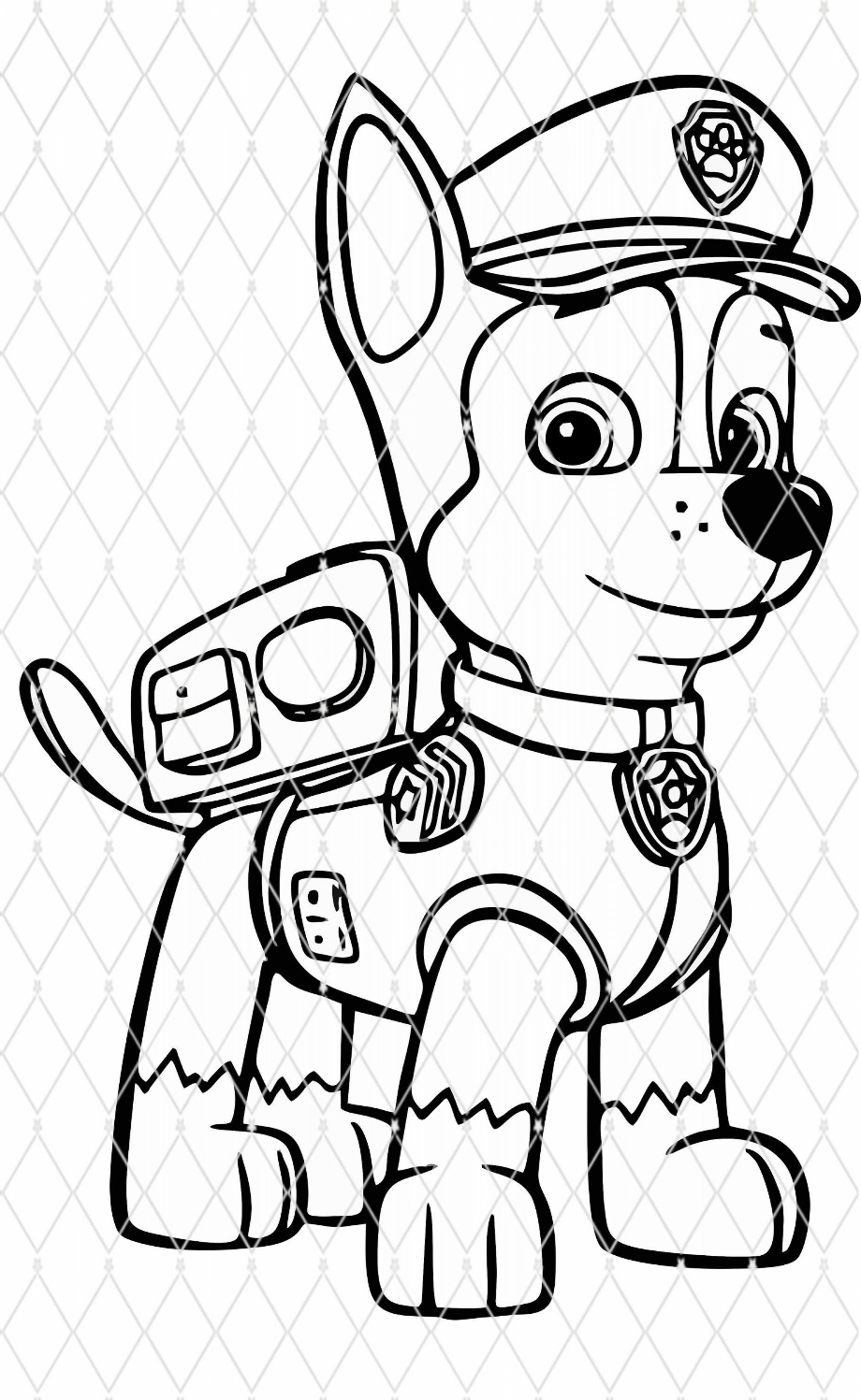 download high quality paw patrol clipart silhouette