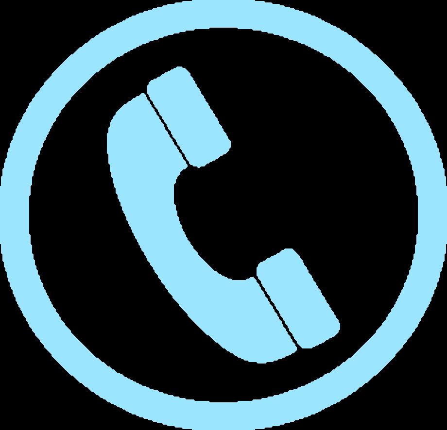 Telephone blue