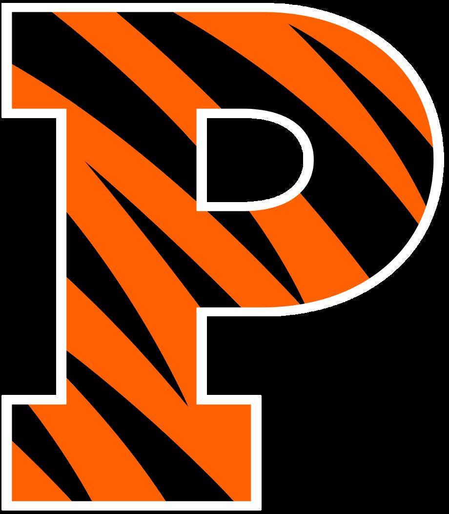 Princeton logo rowing tigers