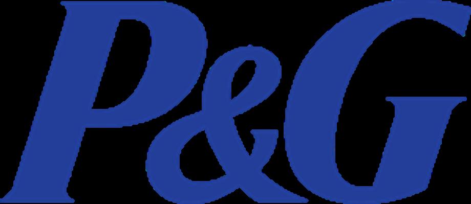 P&g logo symbol vector