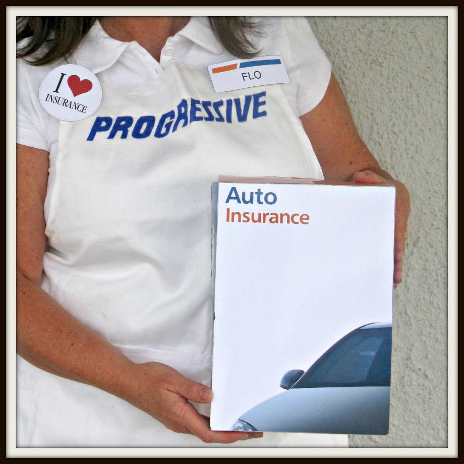 progressive logo box