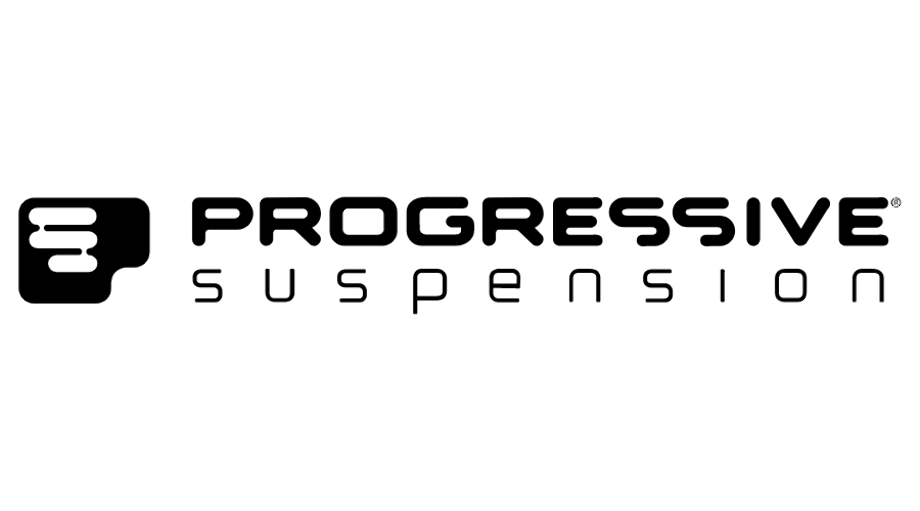 progressive logo white