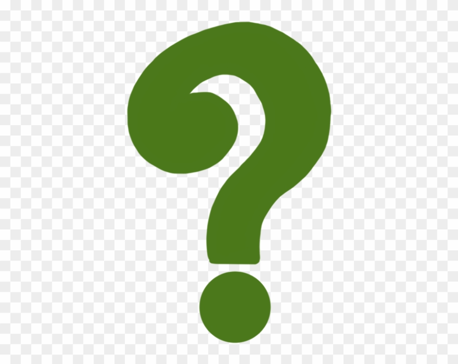 Question mark clipart green great
