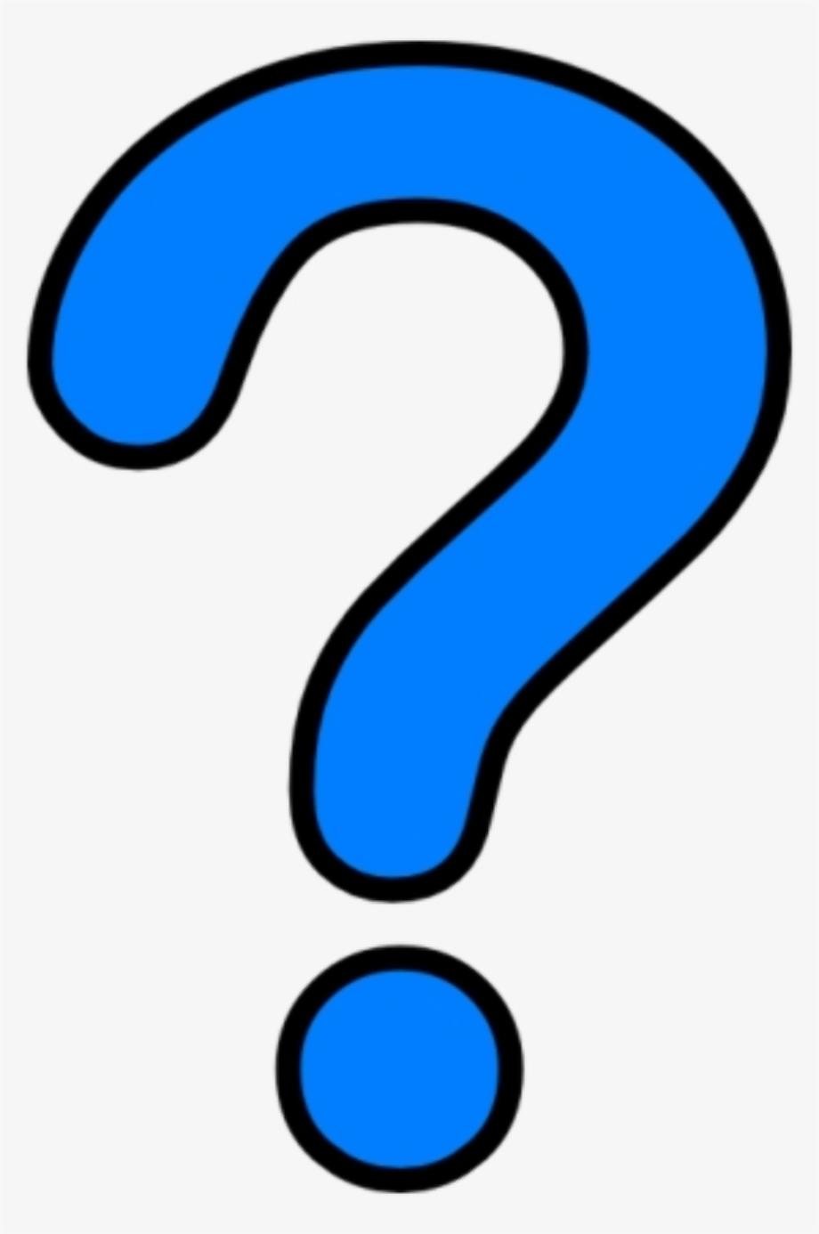 Question mark transparent cool