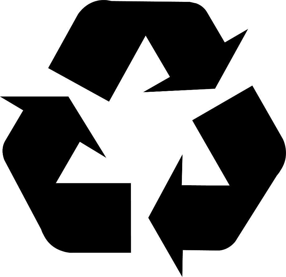 Recycling logo packaging
