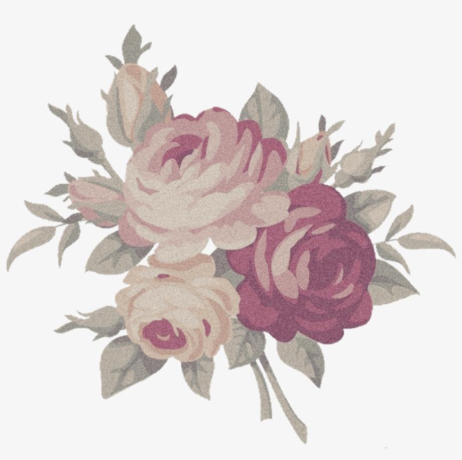 Flowers transparent aesthetic
