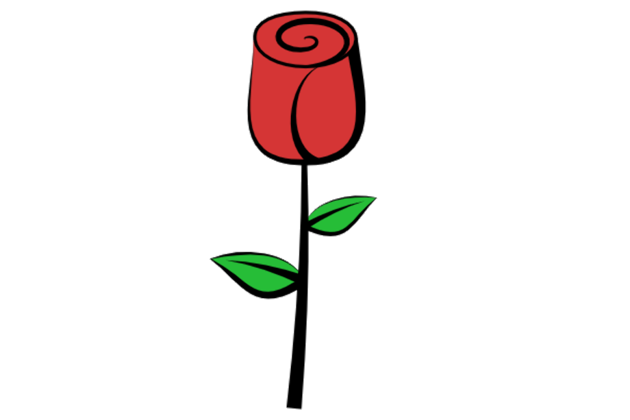 Roses clipart simple download