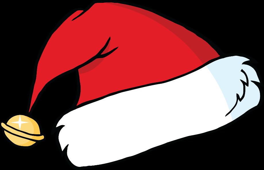 Download High Quality santa hat transparent cute ...