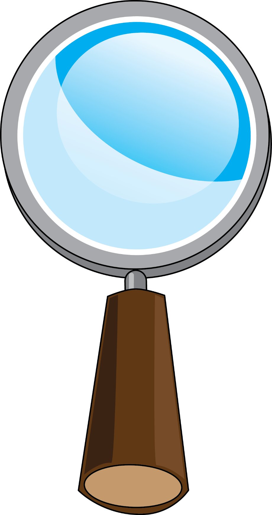 Download High Quality science clipart magnifying glass ...