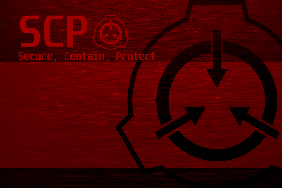 Scp logo red