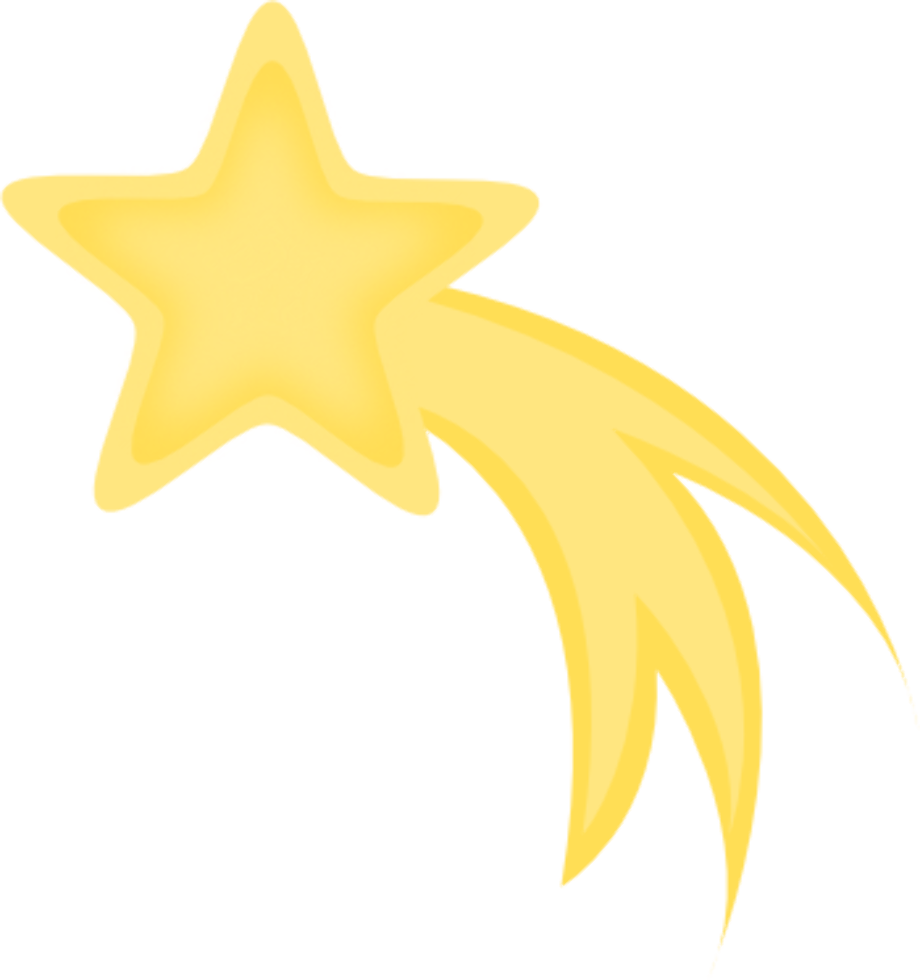 Download High Quality shooting star clipart shining ...