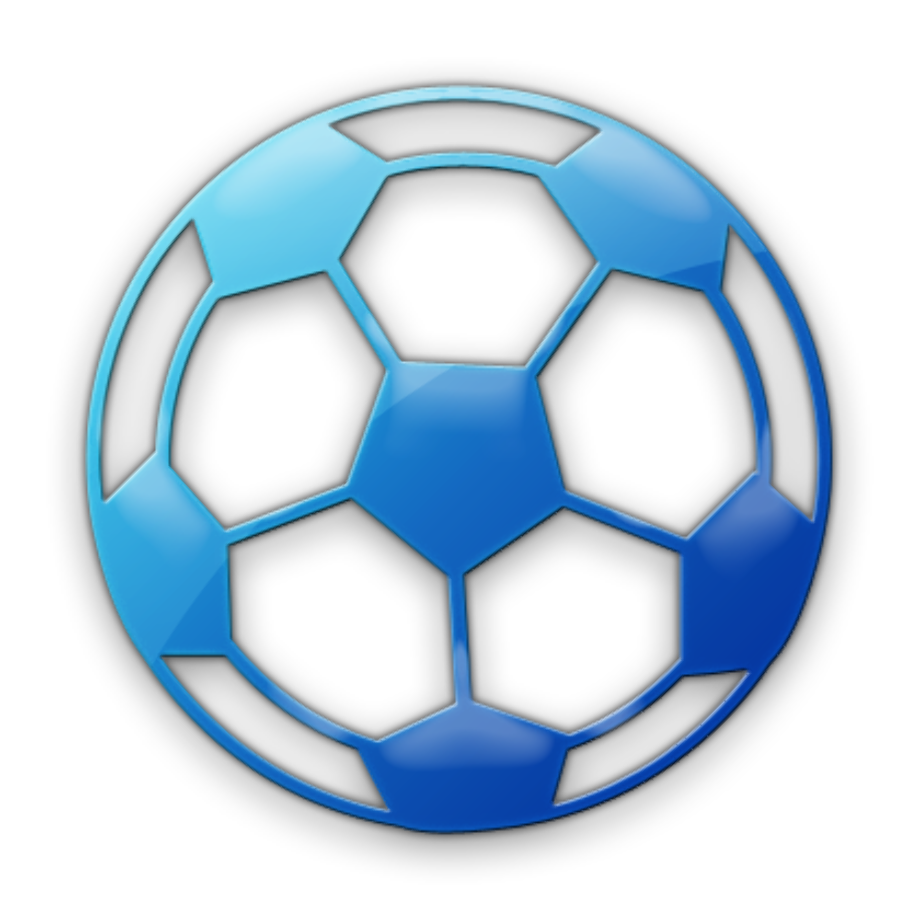 Download High Quality soccer ball clipart blue Transparent ...