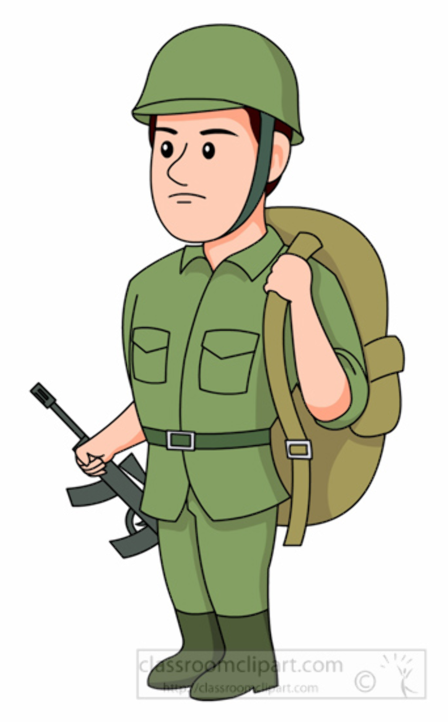 military clipart soldier