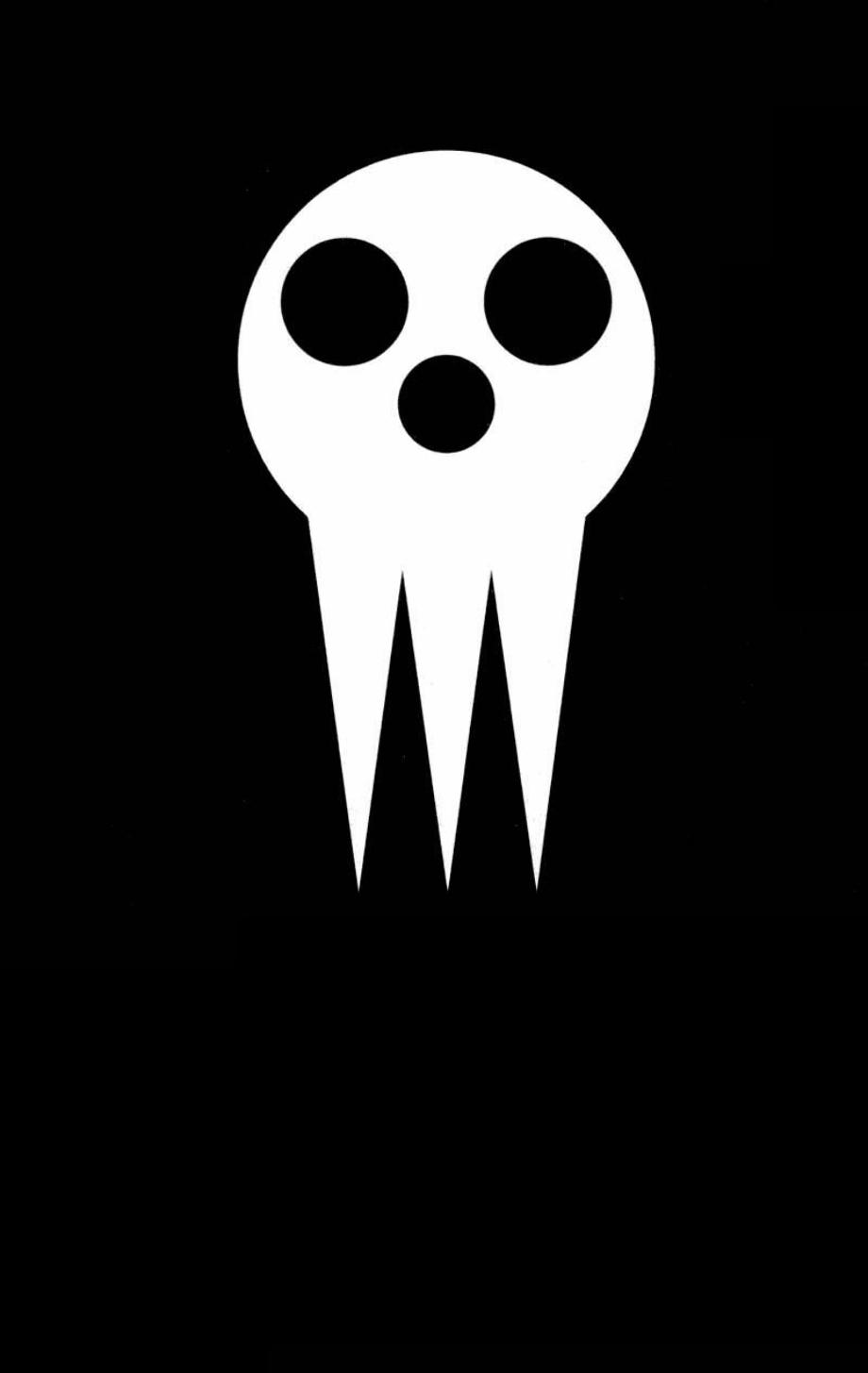 Soul eater logo stencil