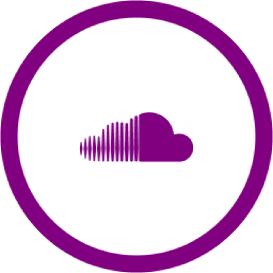 Download High Quality soundcloud logo png purple ...