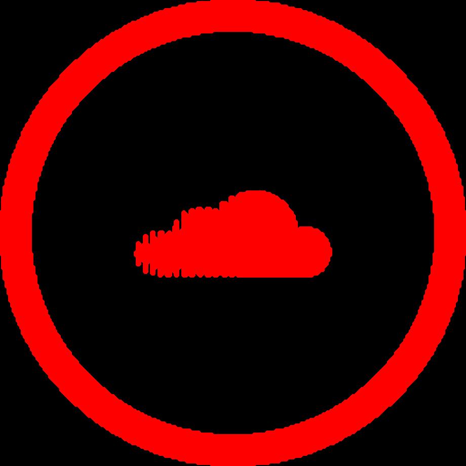 Download High Quality soundcloud logo png red Transparent ...
