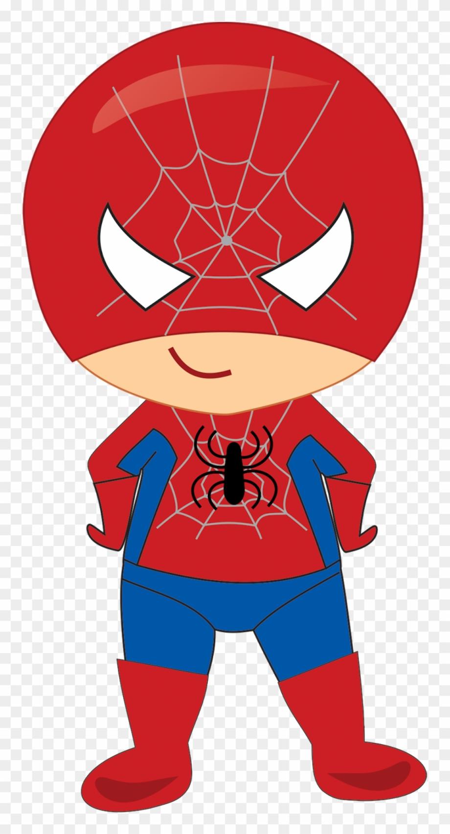 superhero clipart spiderman