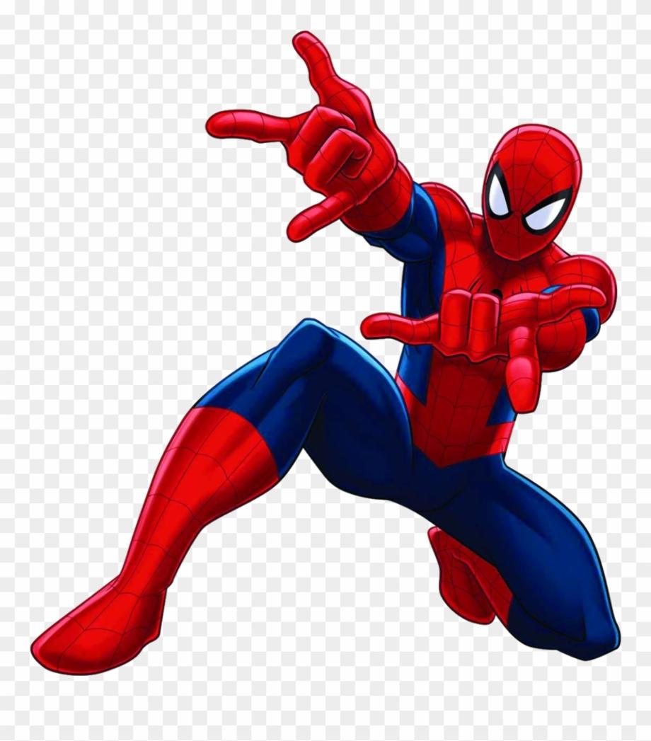 Spiderman transparent