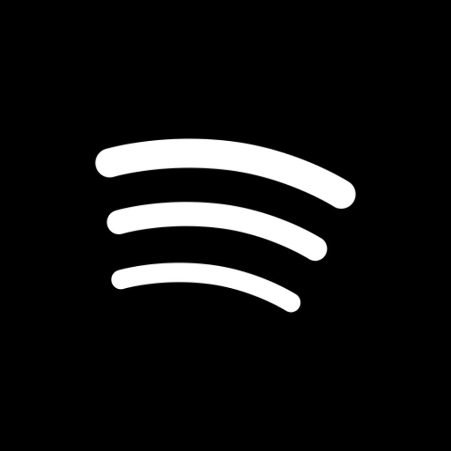 Download High Quality spotify logo transparent black ...