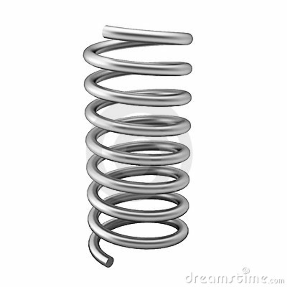 spring clipart metal
