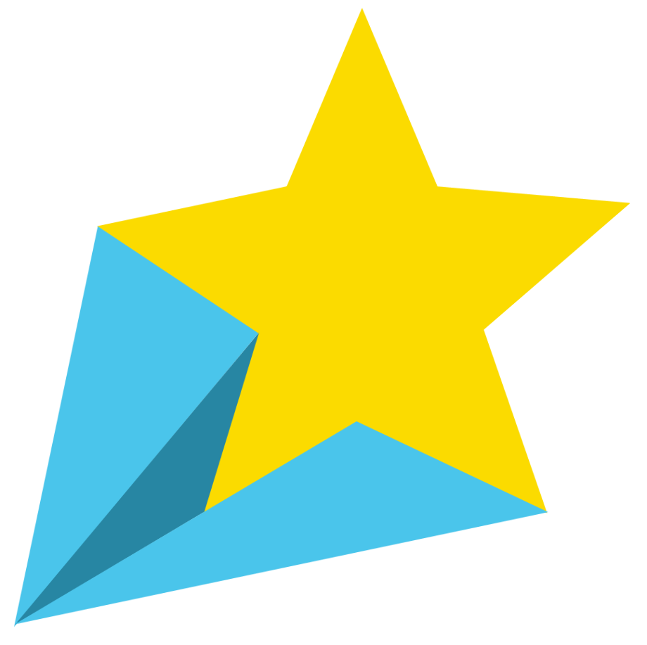 Star clipart shooting free