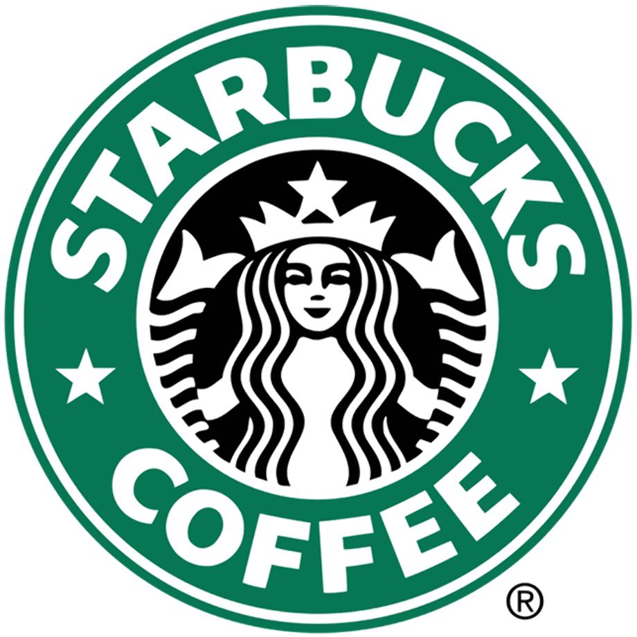 Starbucks logo upside down