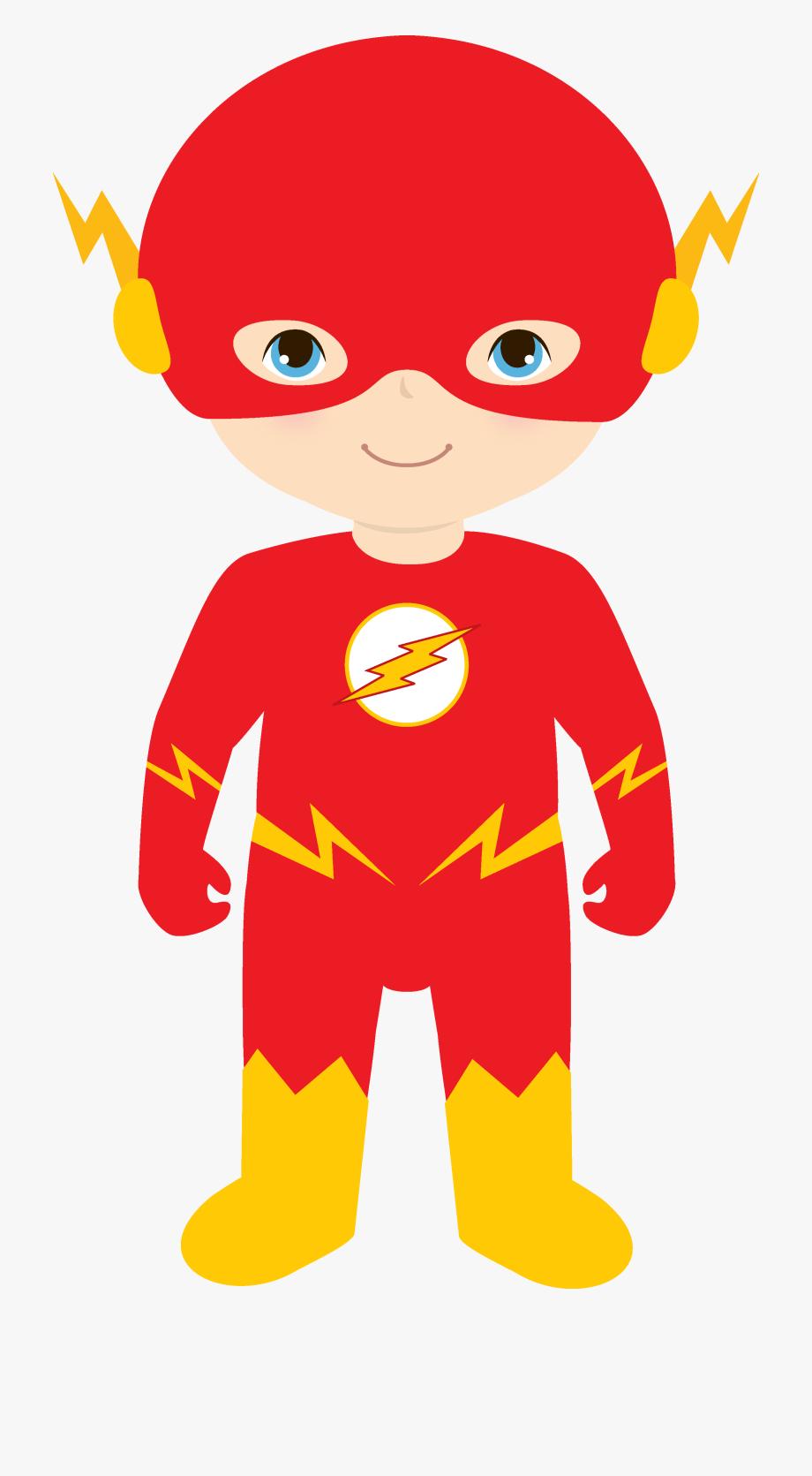 superhero clipart flash