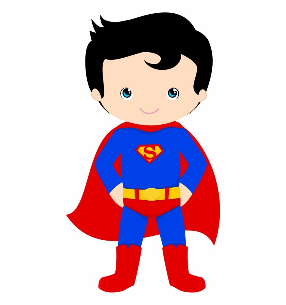 superhero clipart superman