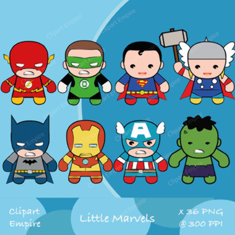 superhero clipart batman