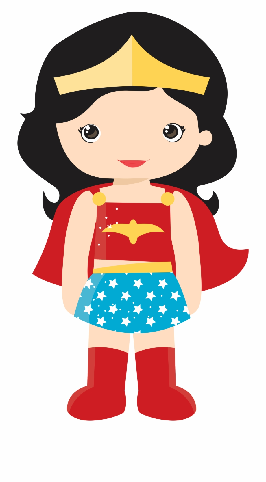 superhero clipart woman