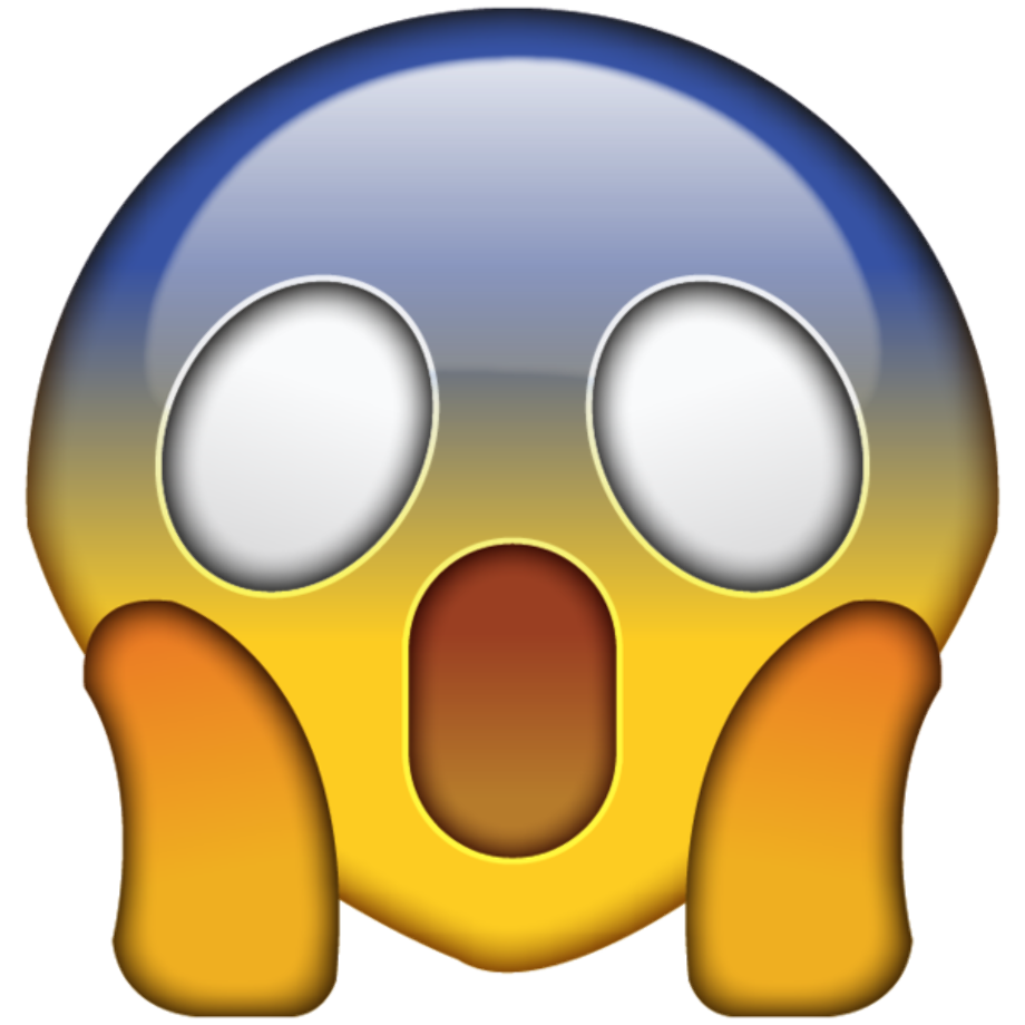Download High Quality surprised emoji clipart iphone ...