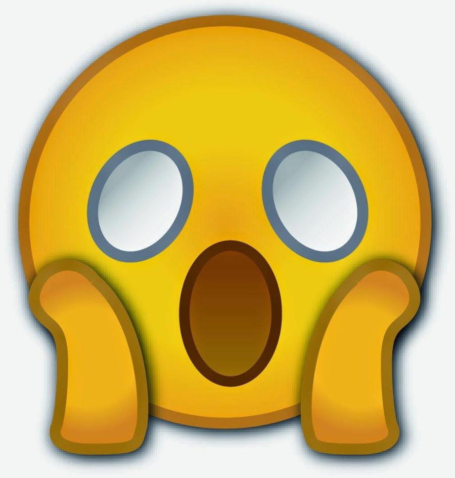 Surprised emoji whatsapp