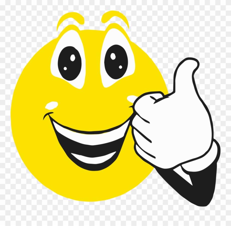 Thumbs up happy