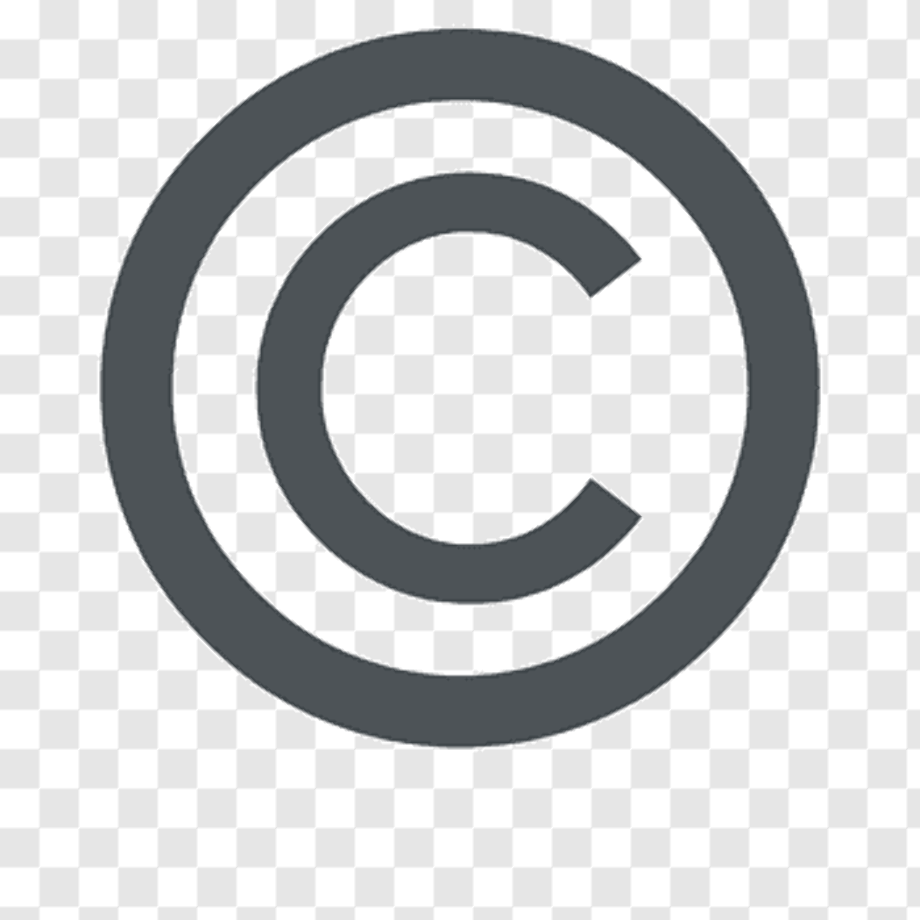 Copyright logo all rights reserved