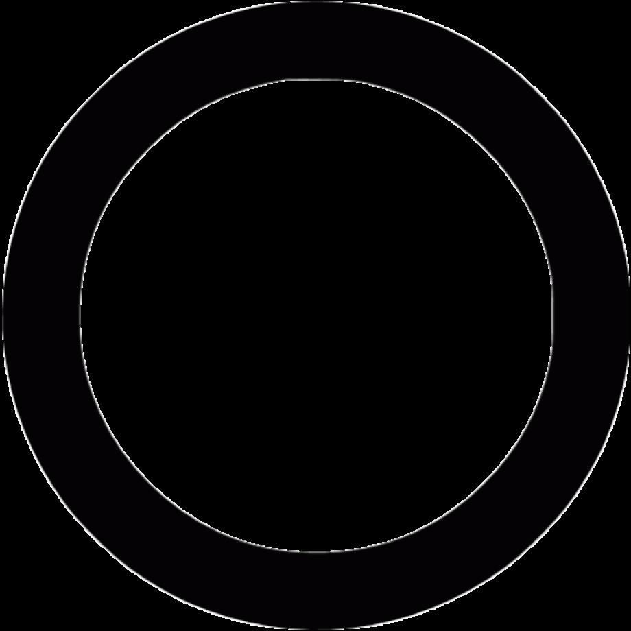 Download High Quality transparent circle black Transparent ...