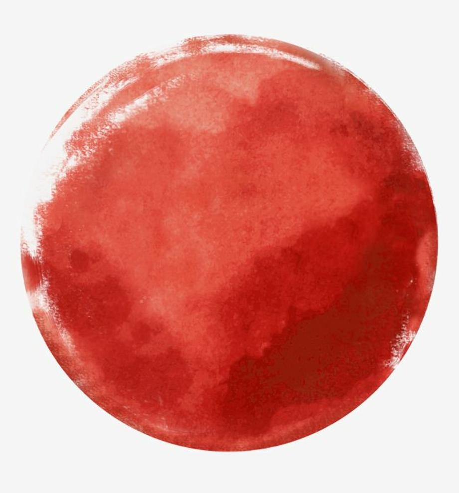 Paint transparent background circle