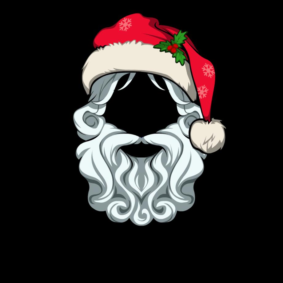 Download High Quality Transparent Santa Hat Beard