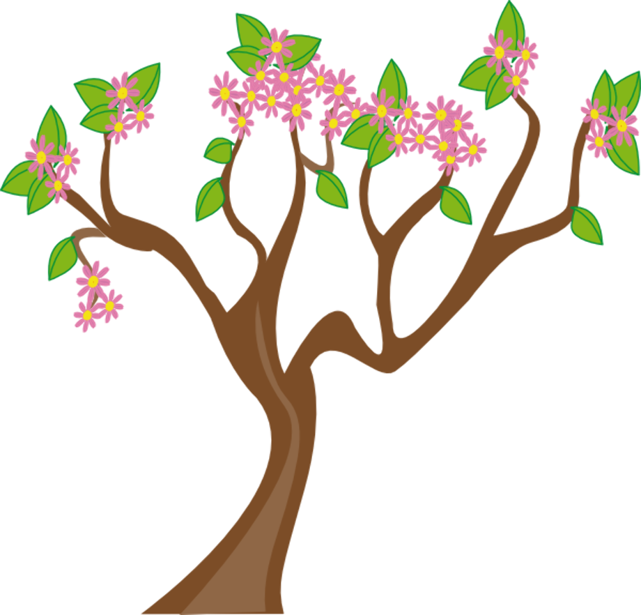 spring clipart tree