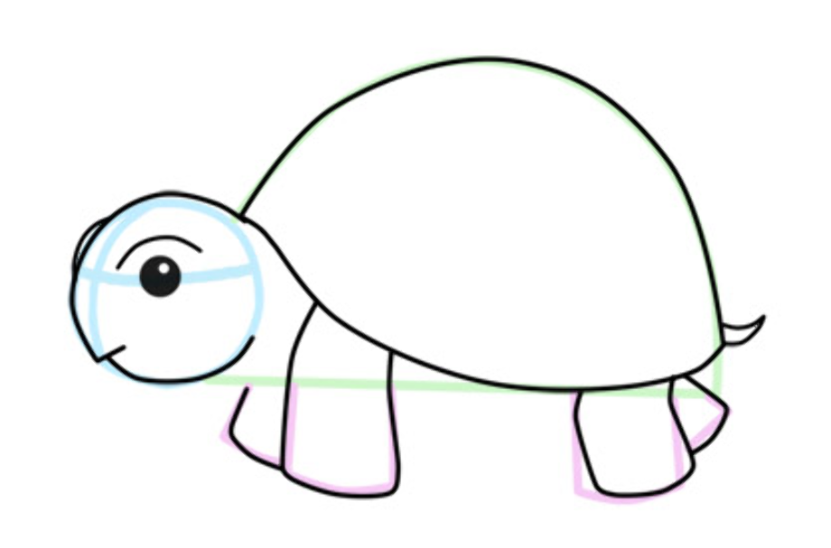 Download High Quality turtle clipart easy Transparent PNG ...