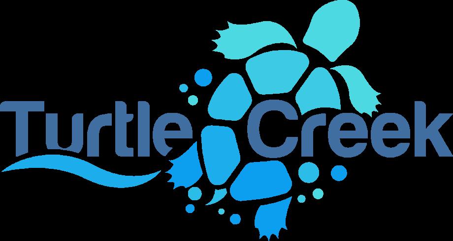 Turtle logo blue creek