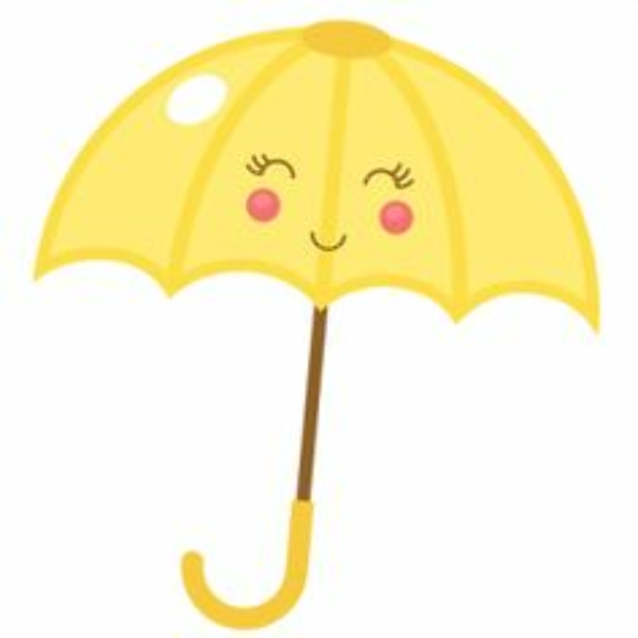 Download High Quality umbrella clipart yellow Transparent ...