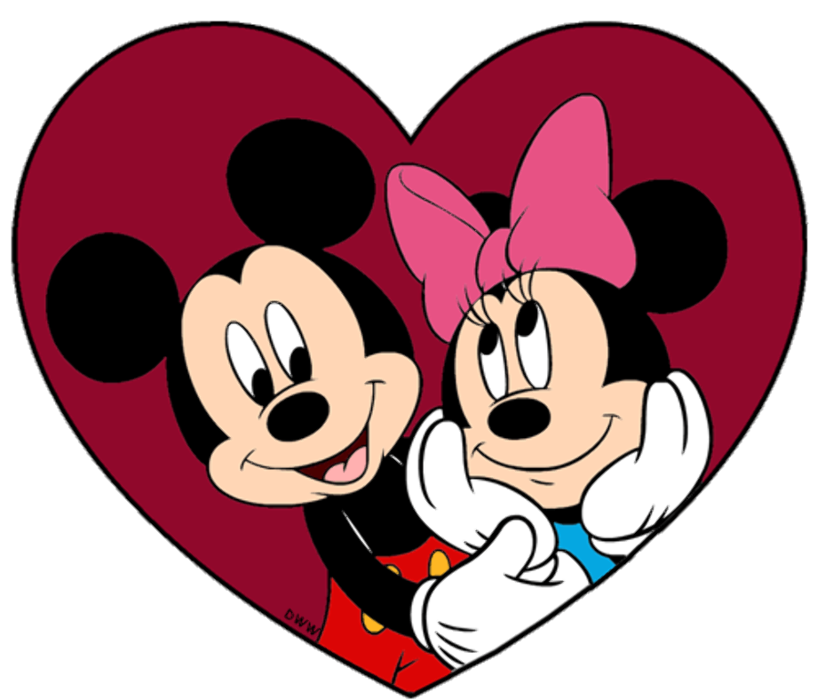 Valentines day mickey mouse