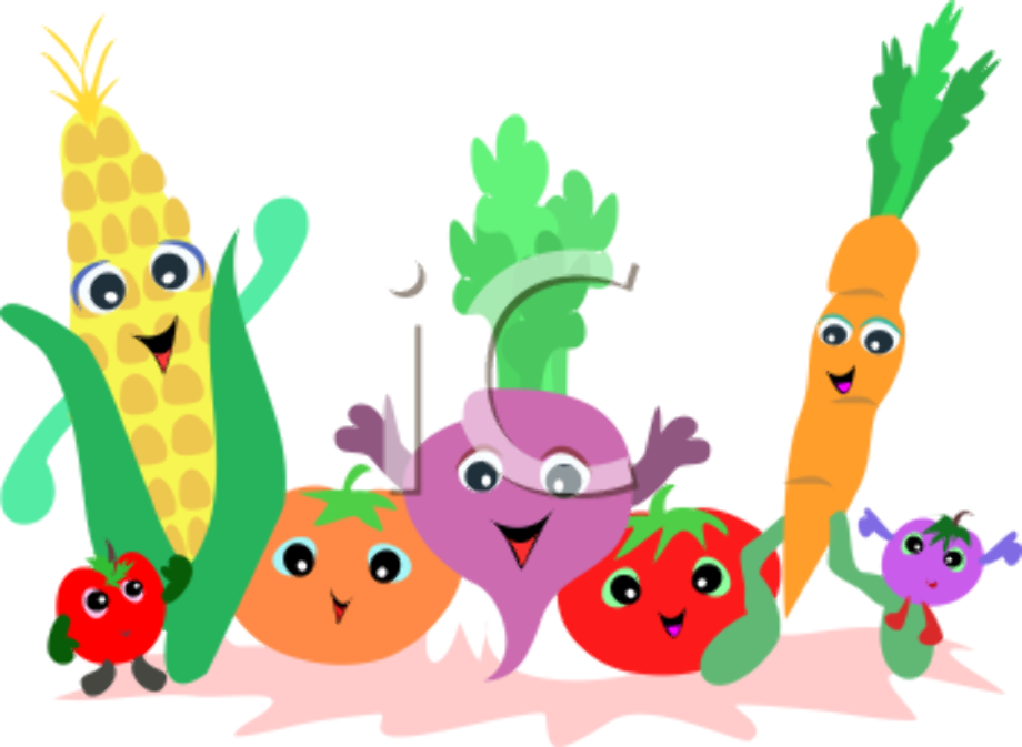 vegetables clipart cartoon