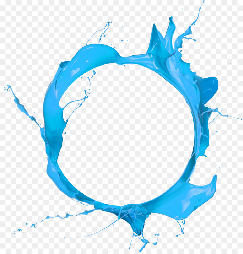 Blue Circleclip Art Transparent: Download High Quality Water Splash Clipart Circle