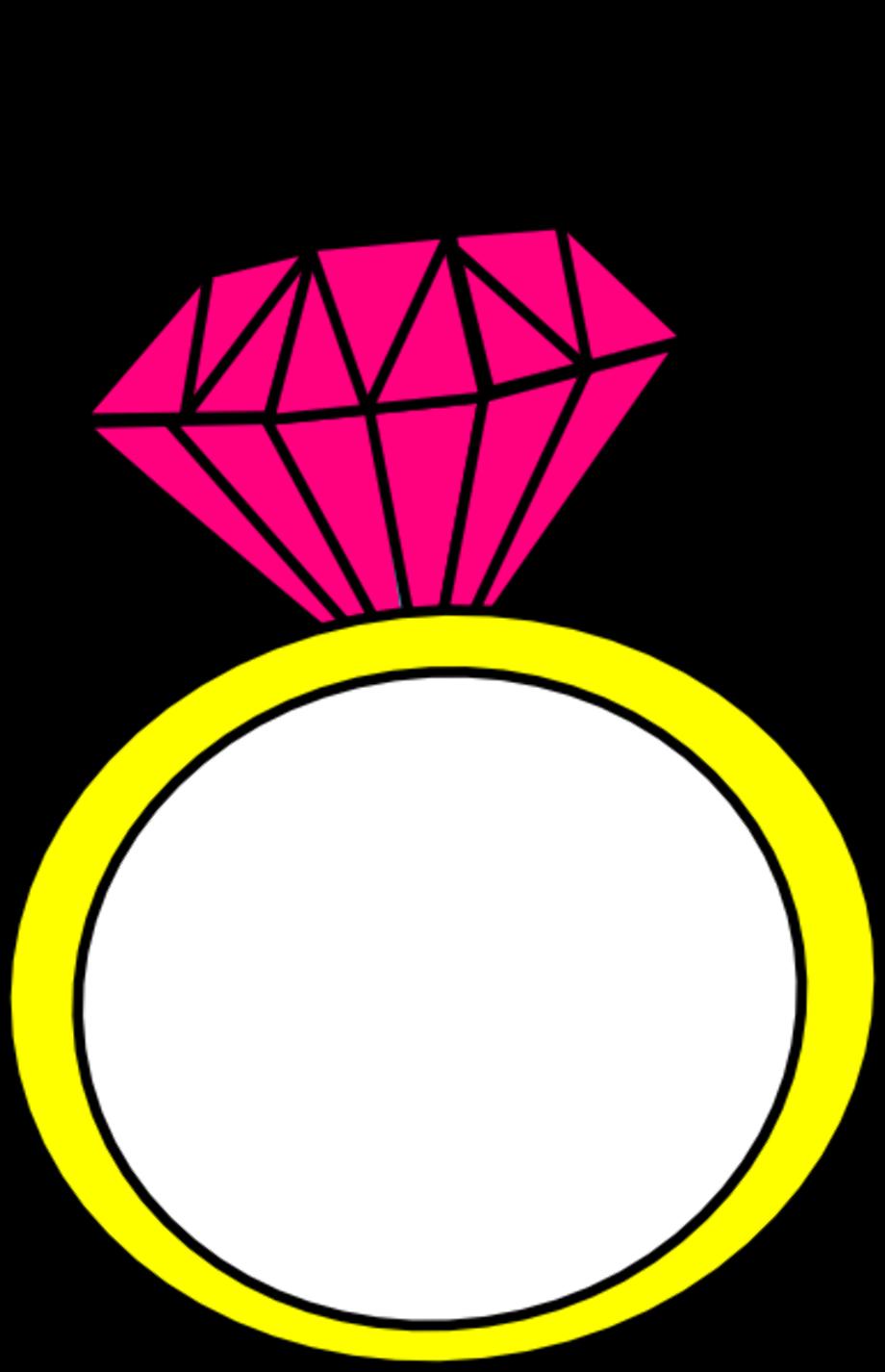 Wedding rings clipart diamond free