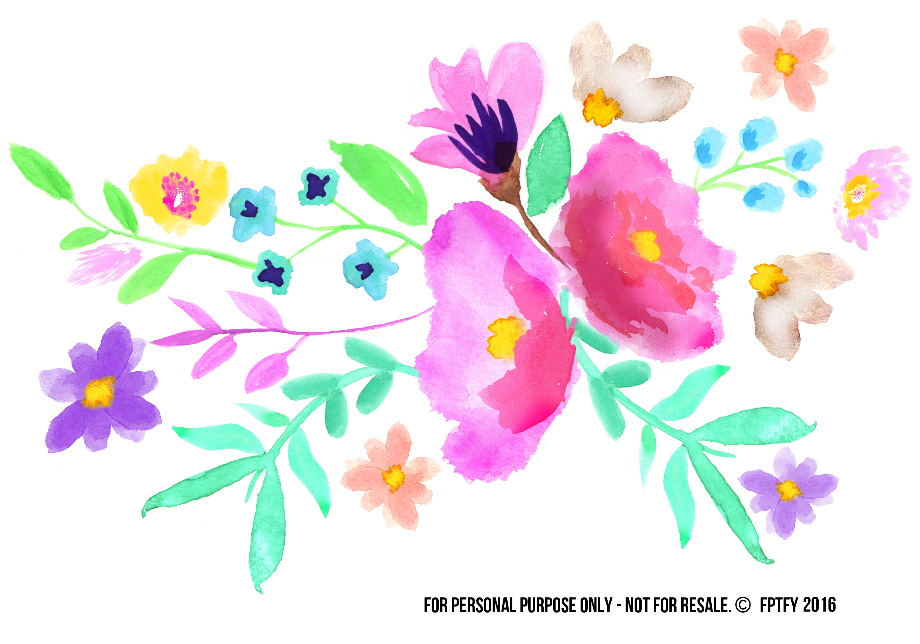Welcome clipart floral spring
