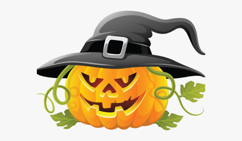 Witch clipart creepy hat