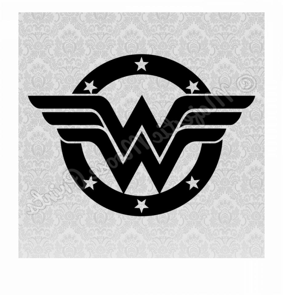Wonder woman logo png svg